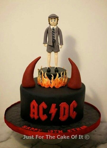 17 Best Images About Acdc Torte On Pinterest Chocolate