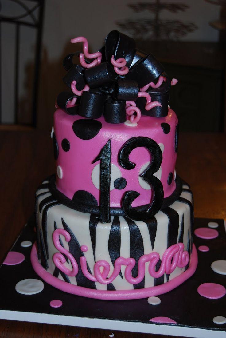 Happy Birthday Diva Cake With Blue