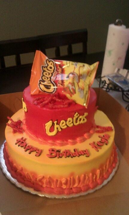 Hot Cheetos Birthday Cake Party Ideas Pinterest