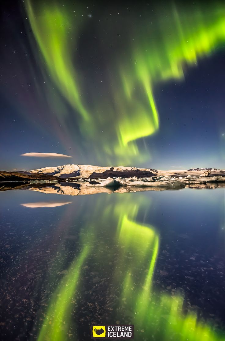 Camping Under Northern Lights Iceland