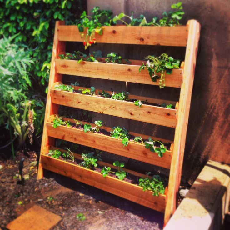 Raised Planter Box Out Pallets