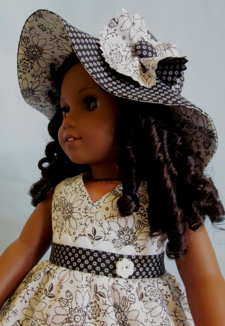 American Doll White Girl Black Crafts Printables And