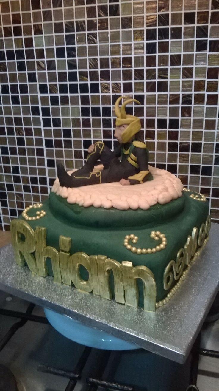 Loki Cake Baking Pinterest Loki And Cakes