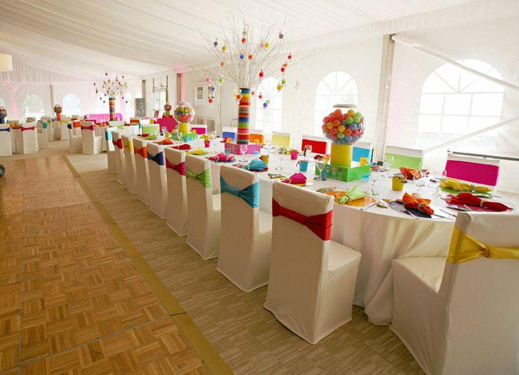 Coral Colored Wedding Napkins