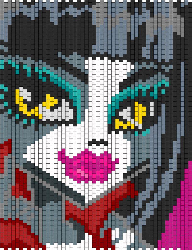 Crochet Pattern For Monster High Skull