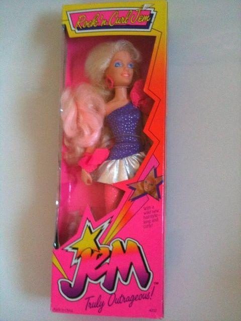 Barbie And Holograms Dolls Jem
