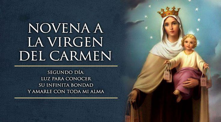 En Dia La Carmen Su Oraciones Del Virgen