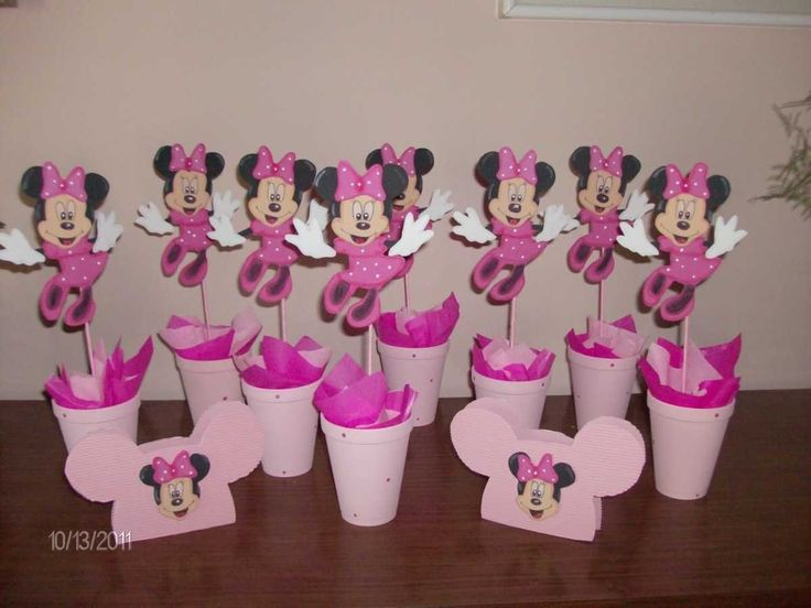 Como Shower Para Hacer Baby De Invitaciones Minnie Mouse