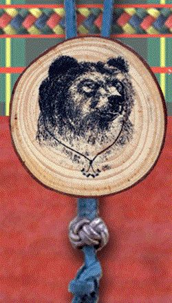 Bsa Wood Badge Bear Woggle Critter Woodbadge Pinterest