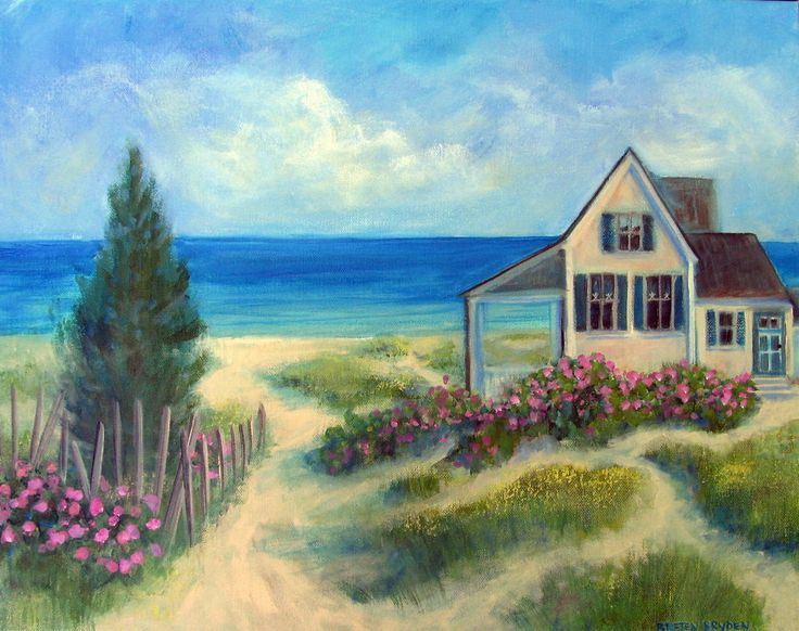 Artists Who Paint Cottages
