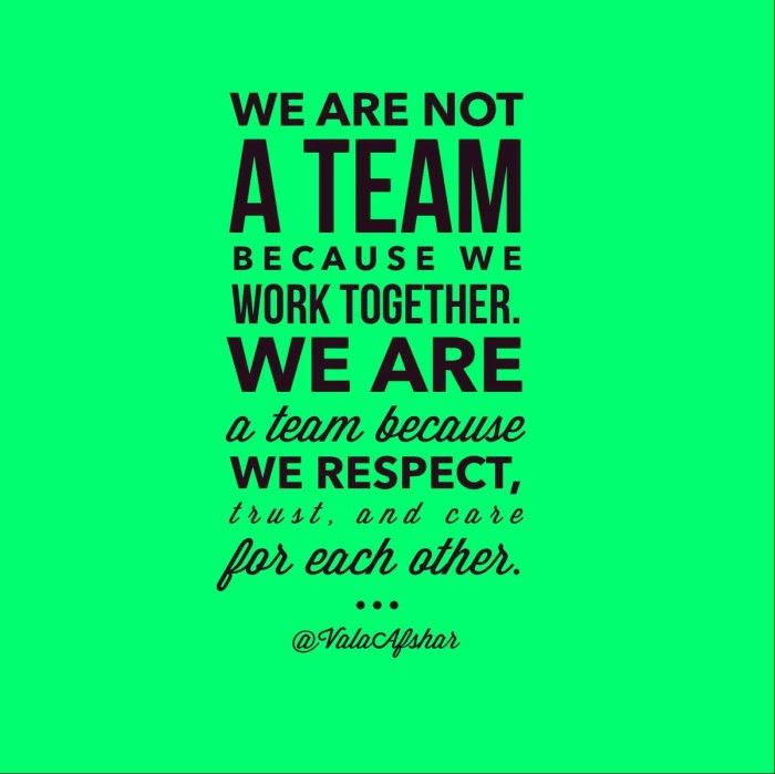 Work Inspirational Quotes Teamwork