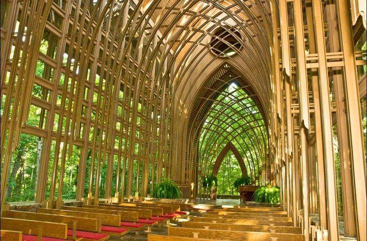 Wood Church Windows