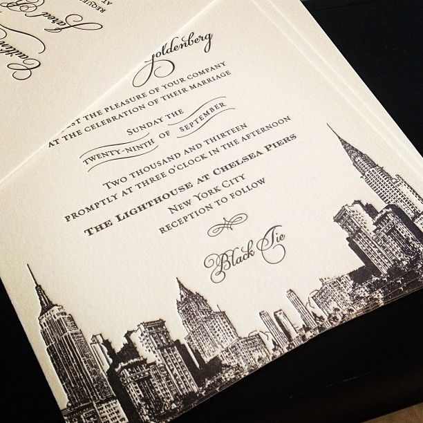 Cheap Wedding Invitations New York