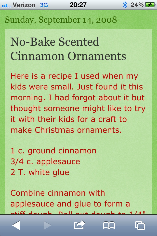 Make And Bake Christmas Ornaments