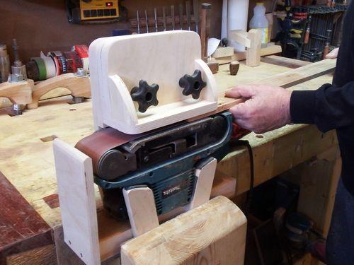 Convert Bench Grinder Belt Sander
