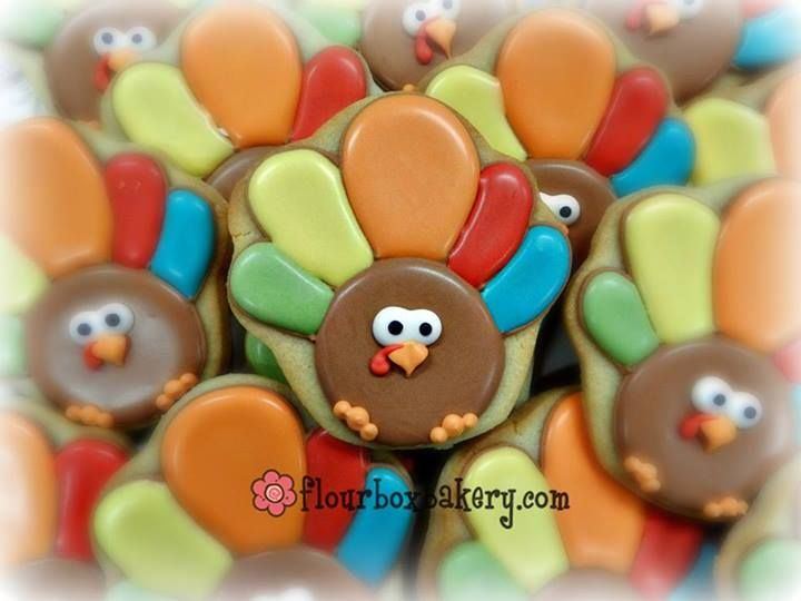 Cup Cakes Turkey Decorate