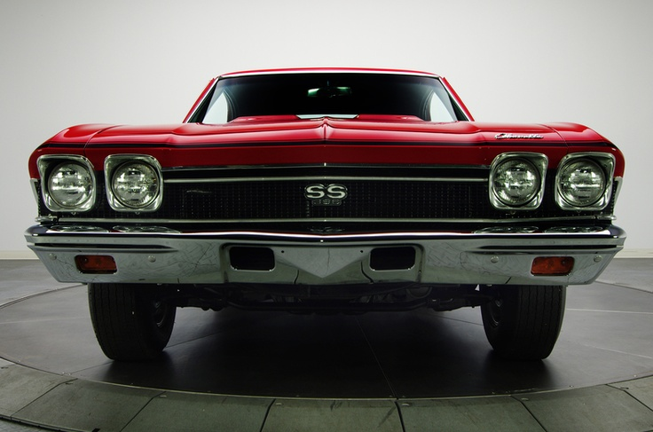 396 Hardtop Coupe Chevelle Ss Chevrolet 1968