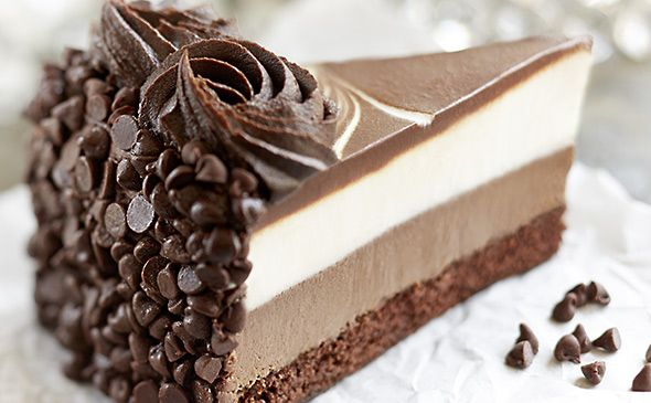 Three Layer Chocolate Mousse