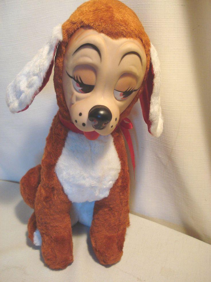 Rubber Faced Stuffed Animal Dog