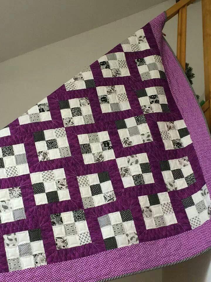 Pattern Wheel Block Quilt Carpenters