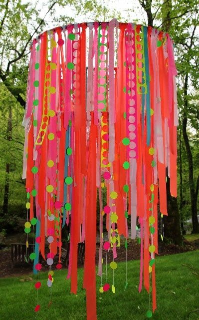Different Ways Hang Streamers