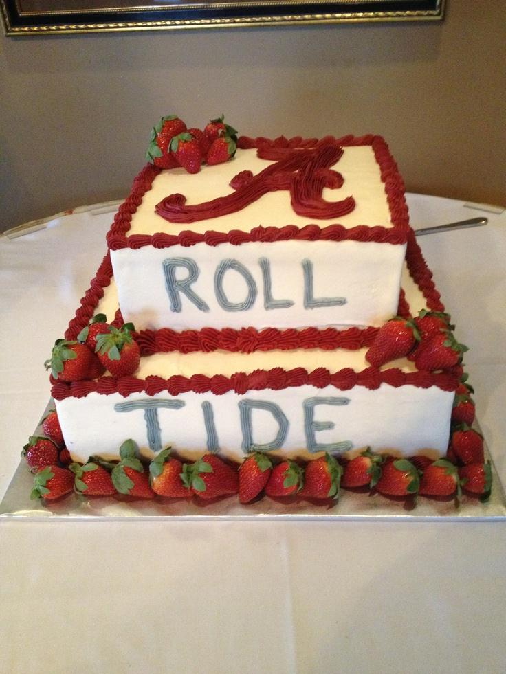 Alabama Groom S Cake Red Velvet Wedding Cakes