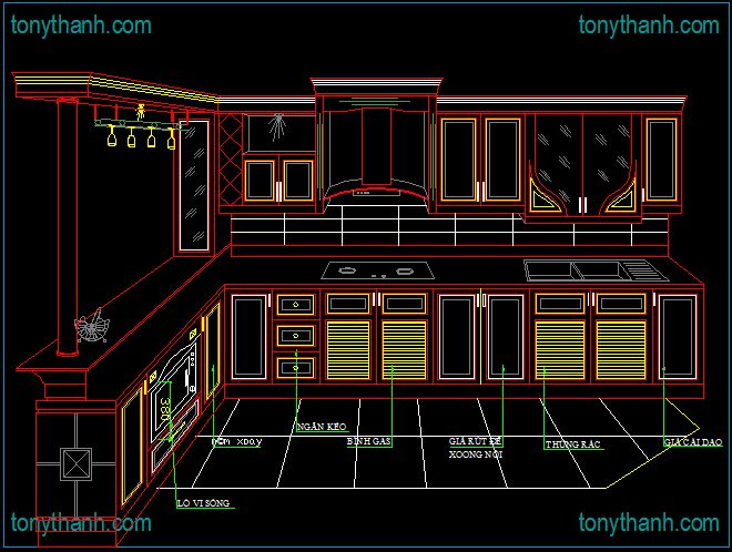 Architectural Types Perspective Drawings