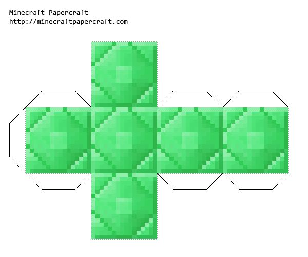 Minecraft Papercraft House Template