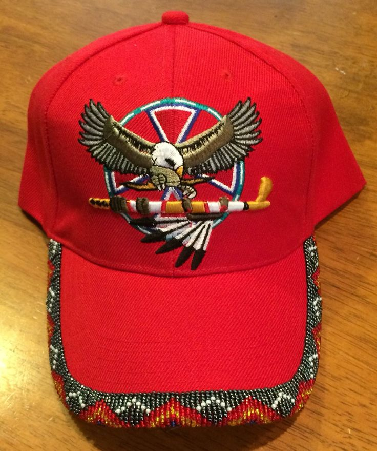 Beaded Cap Graduation Native American