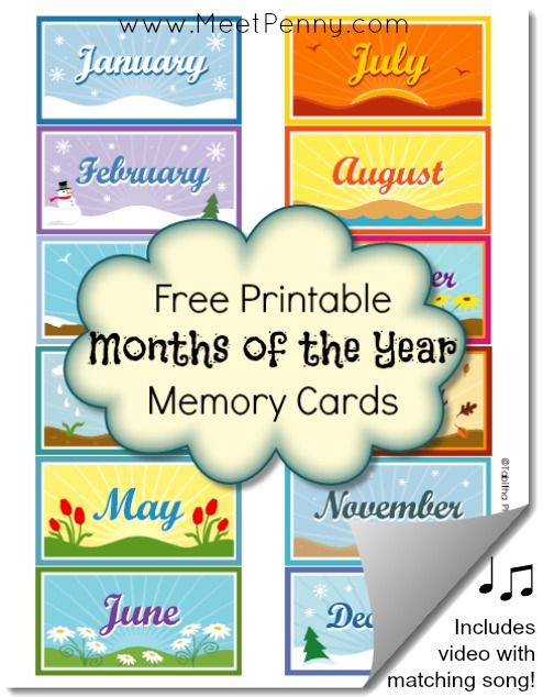 Labels Print Month Year