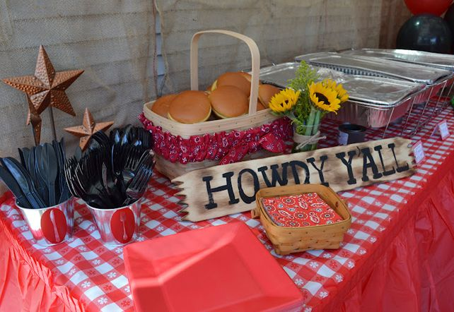 Country Western Party Decorating Ideas