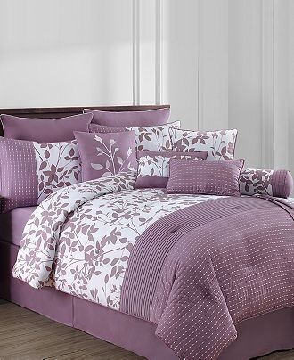 16 Best Images About Purple Comforter Sets Queen Sized On