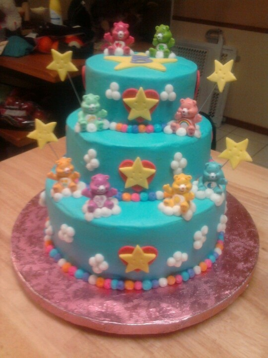 Carebears Cake You Never Know Pinterest Cake