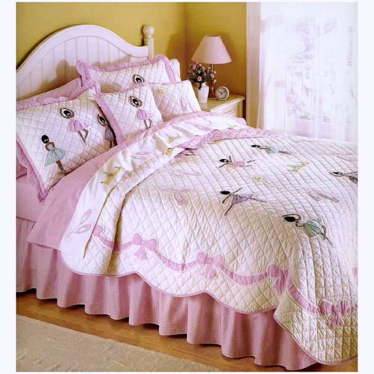 Ethnic Ballerina Bedding Twin Full Queen Quilt Sets For