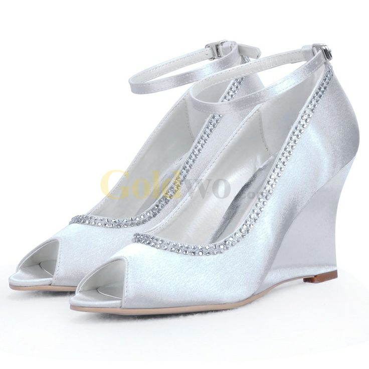 Mother Bride Shoes Wedges