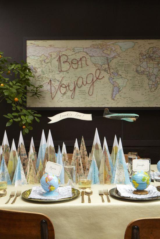 Bon Voyage Decoration Ideas Party