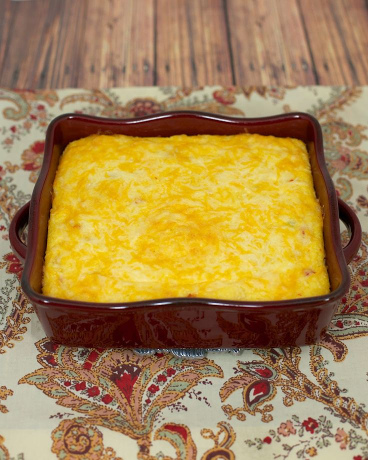 Baked Rotel Cheese Grits