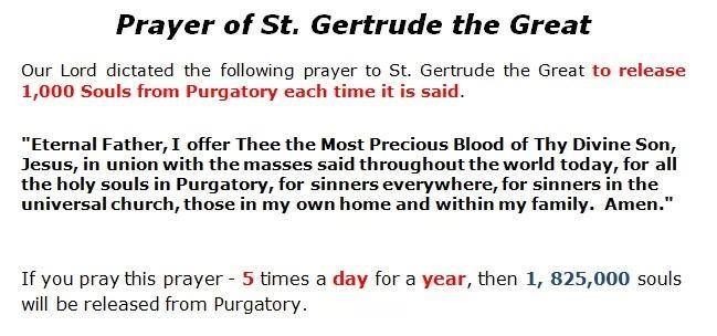 Gertrude St Great Purgatory