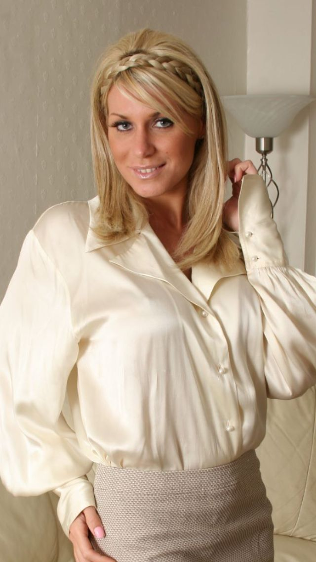 17 Best images about Satin and silk blouses on Pinterest ...