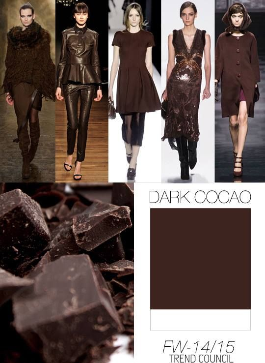 Fall Fashion Color Forecast 2014