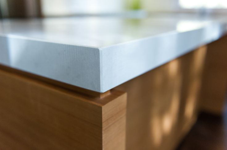 Caesarstone Benchtop With A 20mm Shadow Line Great Detail