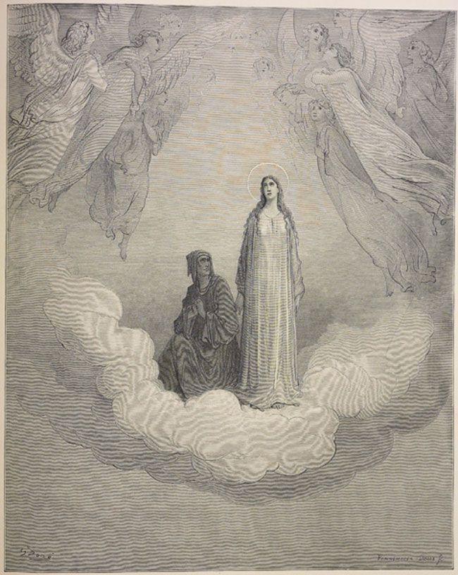 Paradise Beatrice Dante And