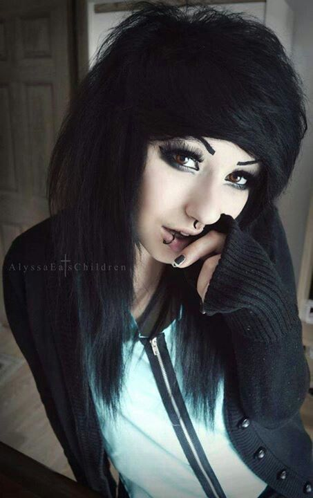 Boy Goth Piercings Pastel