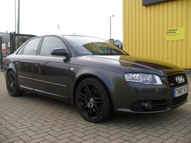 Audi Black Wheels Grey A4