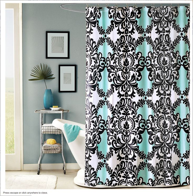 Bed Bath Shower Black Beyond And And White Curtains