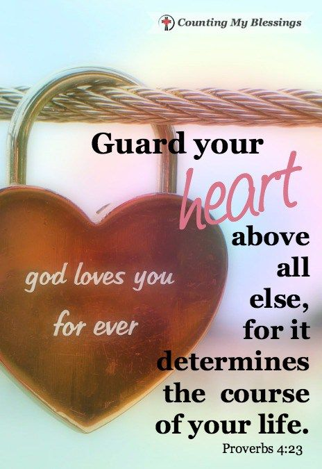Guard Your Heart Verse