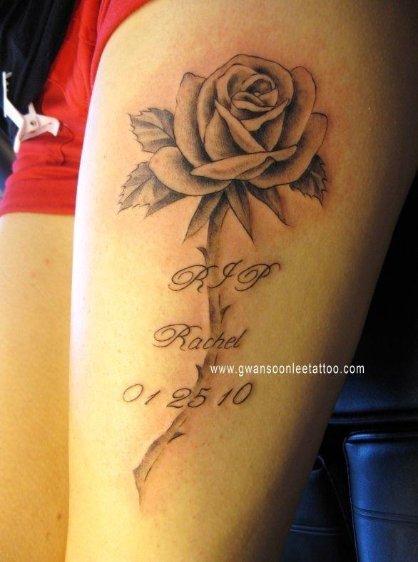 Rip Nick Tattoo Men