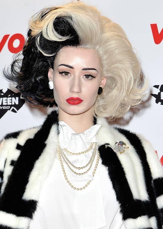 Hairstyle Deville Cruella