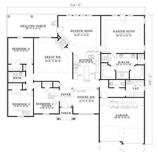 House Story Room Half 5 1 Plan Bath 2 3 Laundry And Bedroom Garage Bath