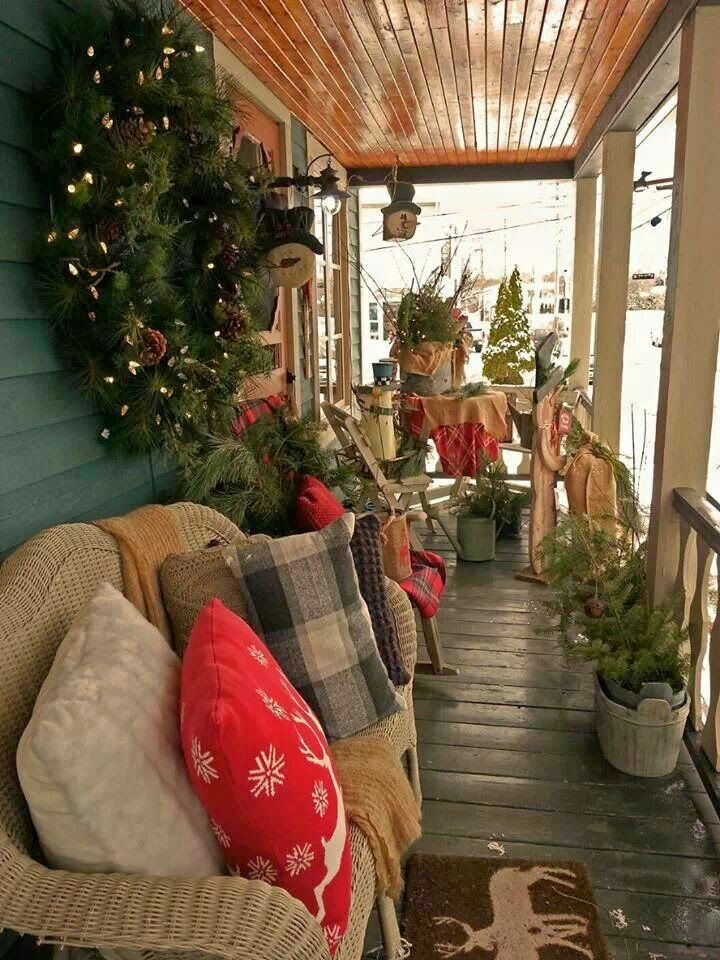 Small Front Porches Country